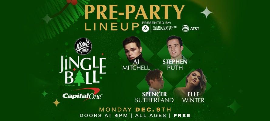 KDWB Jingle Ball Pre-Party