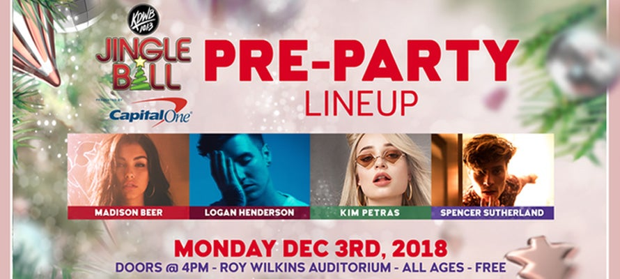 101.3 KDWB's Jingle Ball Pre-Party