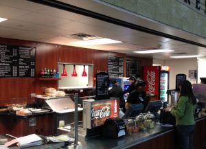 Concession Stand in Exhibition Hall A