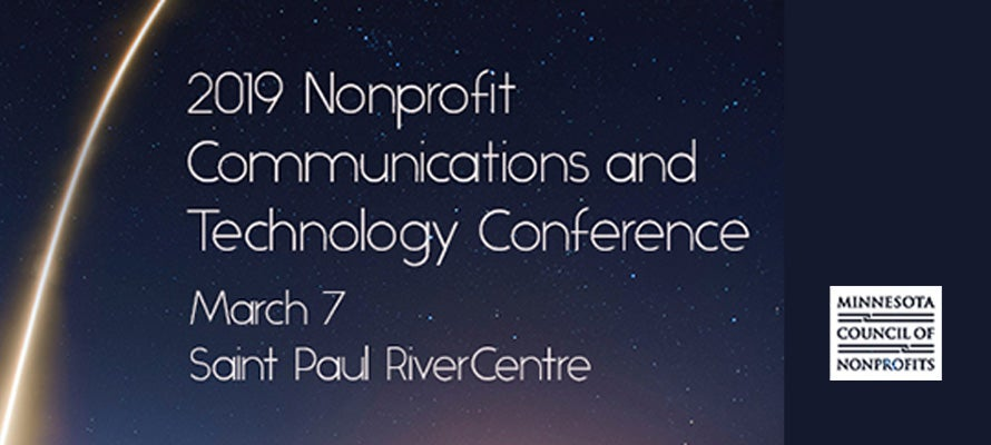 2019 Nonprofit Communications and Technology Conference