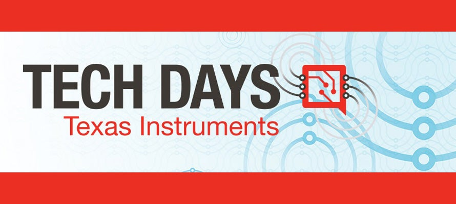 Texas Instruments Tech Day